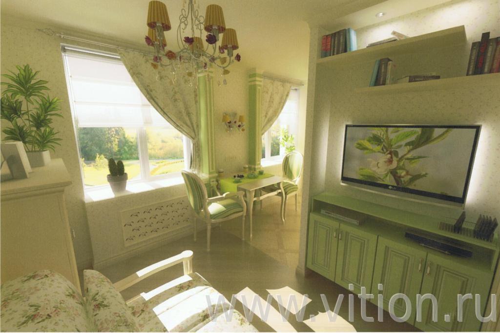 Дизайн кухни совмещенной с гостиной визуализация.