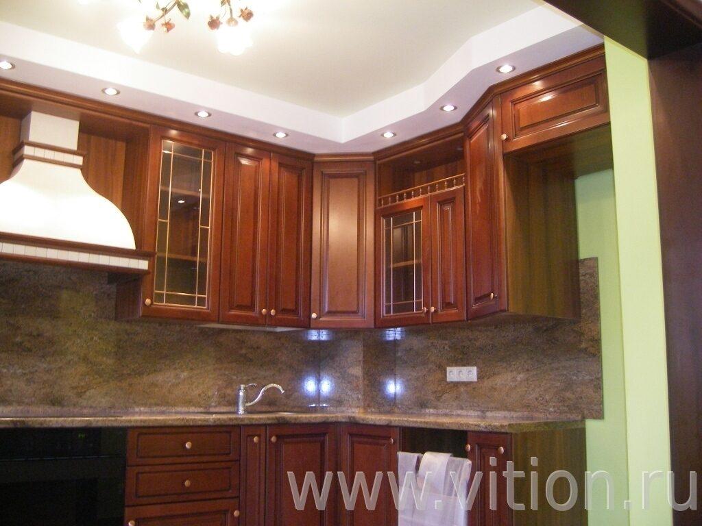 Ремонт квартиры  потолок на кухне31