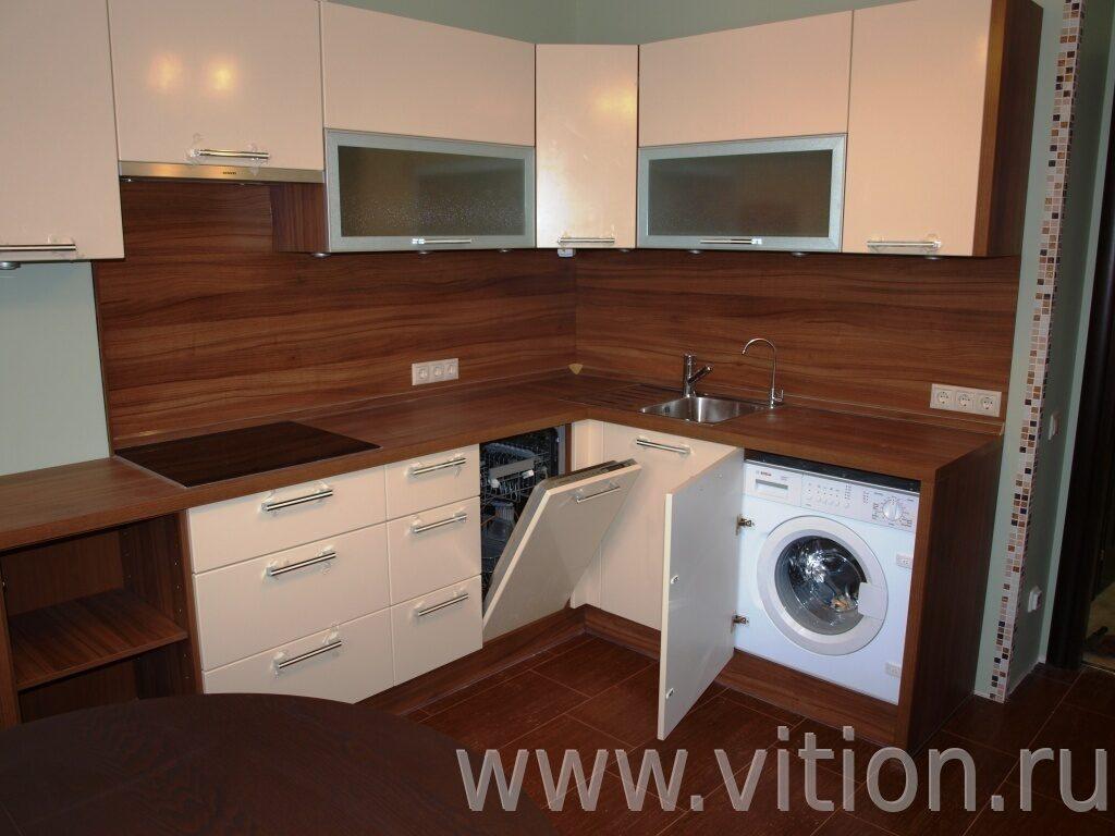 кухни с стиральной машиной
